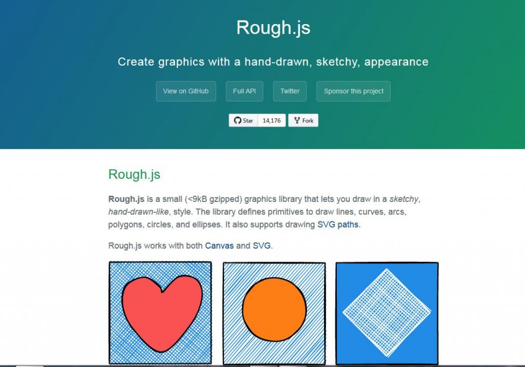 rough.js