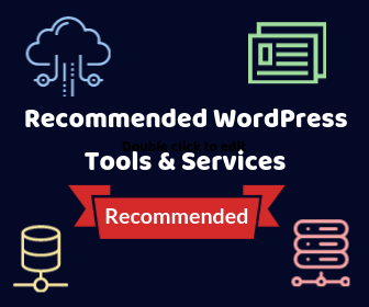 Recommended WordPress Services & Tools