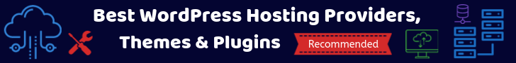 Recommended WordPress Hosting, Themes & Plugins